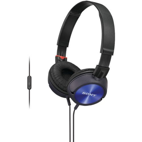 Sound Monitoring Headphones (Blue) [Personal Computers]