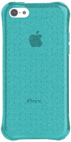 Ballistic iPhone 5c LS Jewel Glitter - Retail Packaging - Glitter Topaz