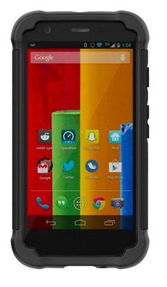 Ballistic Shell Gel Case for LG G Flex (Black/Black) [Wireless Phone Accessory]