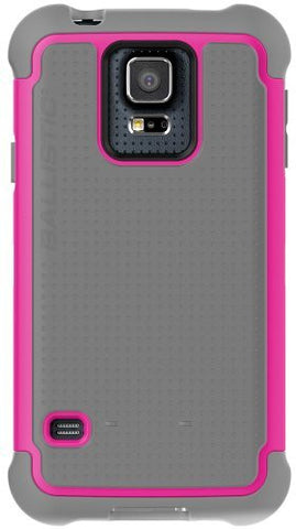 BALLISTIC TOUGH JACKET FOR GALAXY S5 - GRAY/PINK