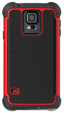 BALLISTIC TOUGH JACKET FOR GALAXY S5 - RED/BLACK