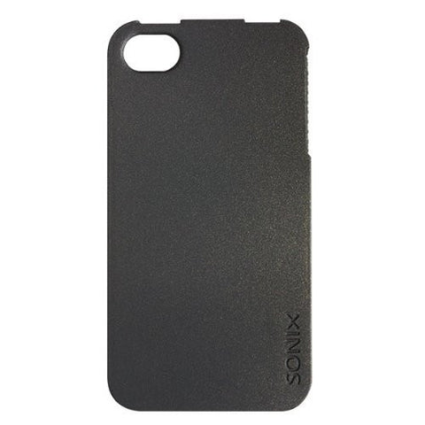 Sonix 200-1010-001 Snap! for iPhone 4/4S - Face Plate - Retail Packaging - Bl...