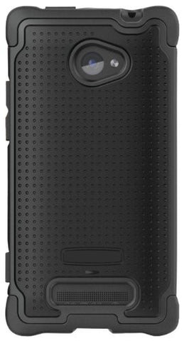 Ballistic SG1008-M005 SG TPU Case for HTC 8X - 1 Pack - Retail Packaging - Black