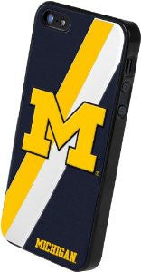 Forever Collectibles NCAA Michigan Wolverines Team Logo Hard Apple iPhone 5 /...