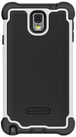 Ballistic SG MAXX Samsung Galaxy Note 3 - Retail Packaging - Black/White