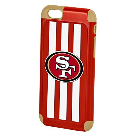 Forever Collectibles SF 49er Licensed NFL Football Dual Hybrid iPhone 6/6s
