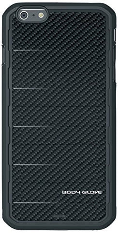 BODYGLOVE RISE FOR IPHONE 6 PLUS CASE- BLACK CARBON FIBER