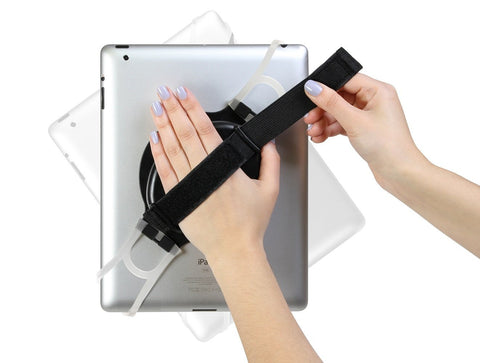 URGE Basics Universal Swivel Grip for Tablets - Retail Packaging - Black