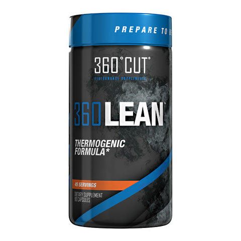 360CUT 360LEAN, Elite Thermogenic Formula for Optimal Fat Burning Performance, 90 Count