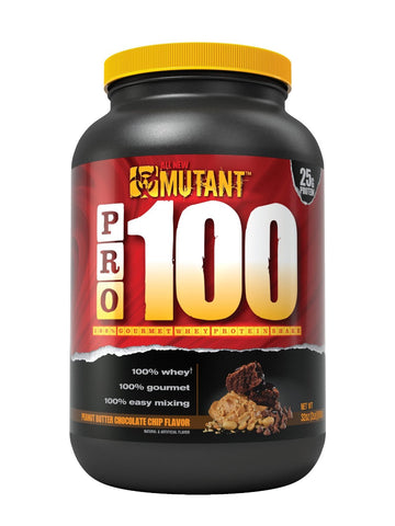 All New Mutant PRO 100 - 100% Gourmet Whey Protein Shake - 2Lb - Choose Flavor