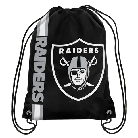 Los Angeles / Oakland Raiders 2015 NFL Football Drawstring Backpack by Forever collectibles