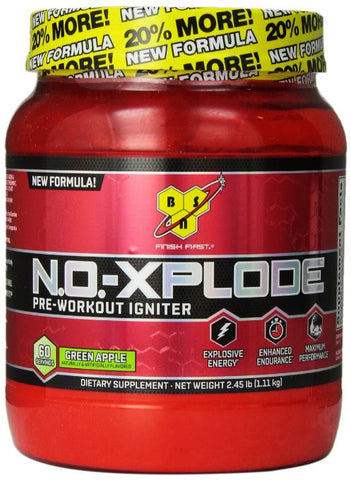 BSN N.O.-XPLODE - Choose Flavor - 2.45 lb (60 servings)