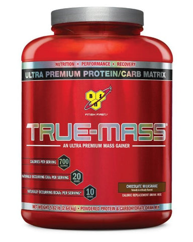BSN TRUE-MASS, Chocolate Milkshake, 5.82 Pound