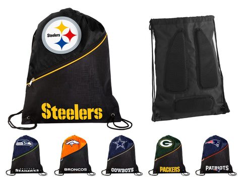 Heavy Duty Draw String NFL Team Bags, by Forever Collectibles - Pick Team!