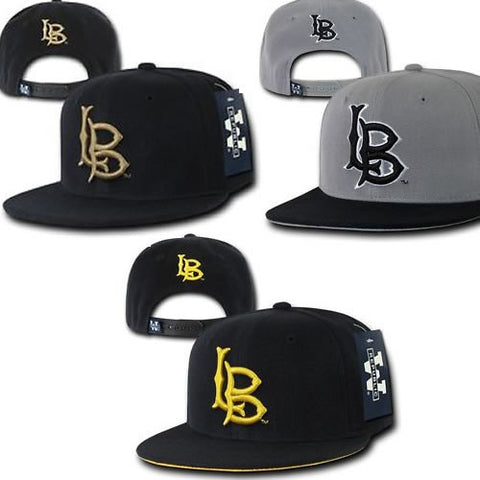 LB, Long Beach State Embroidered Hats, FREE SHIPPING