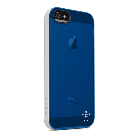 BELKIN GRIP CANDY FOR IPHONE 5/5S - GRAY/BLUE