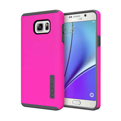 INCIPIO DUALPRO FOR GALAXY NOTE 5 - PINK/GRAY