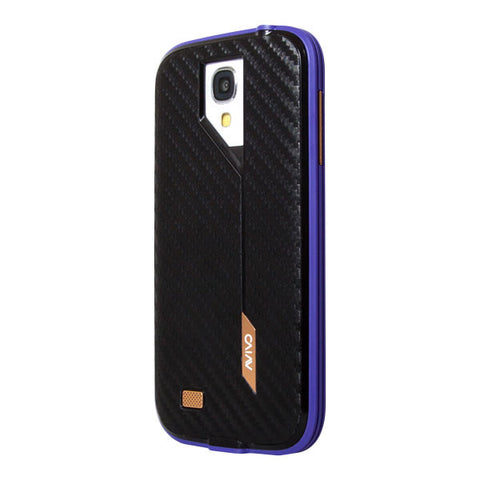 AVIVO RAIL CARBONATE FOR GALAXY S4 - VIOLET FRAME/BLACK CARBON