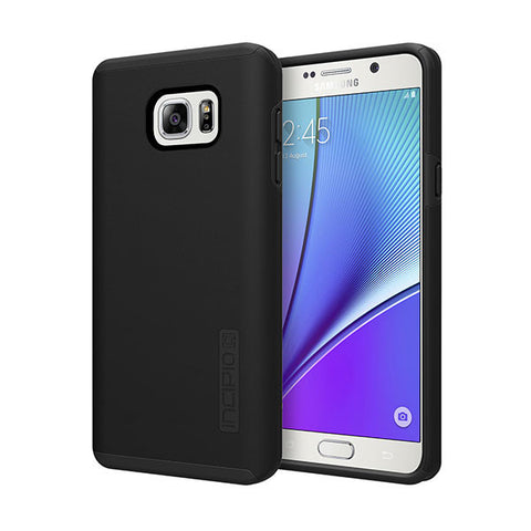 INCIPIO DUALPRO FOR GALAXY NOTE 5 - BLACK/BLACK