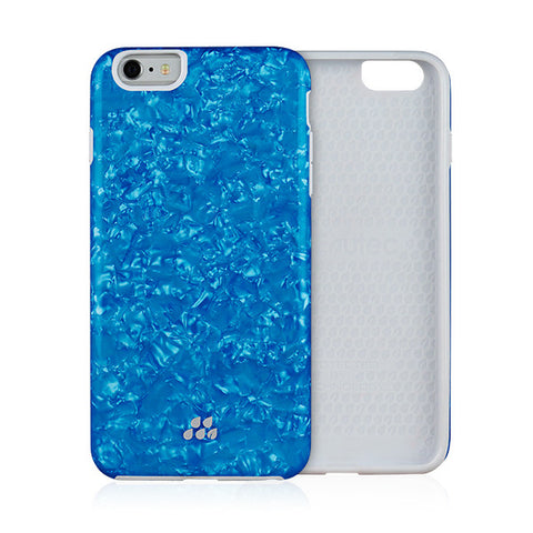 EVUTEC Kaleidoscope SC Case Cover for Apple iPhone 6/6S PLUS - Blue