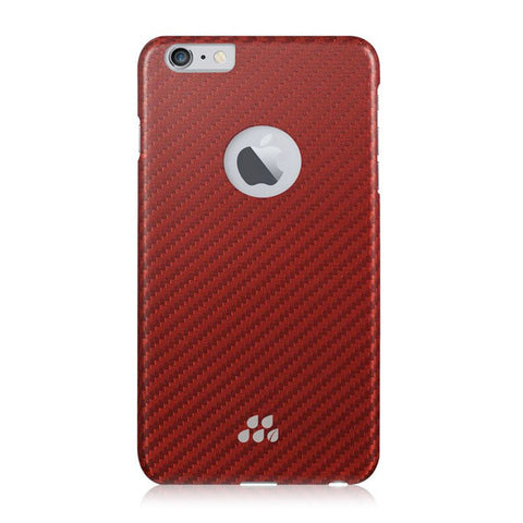 EVUTEC AP-006-CS-K03 Karbon S Lorica Case Cover for Apple iPhone 6/6S - Red/Orange