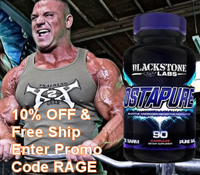 Blackstone Labs, Ostapure discount code RAGE at checkout