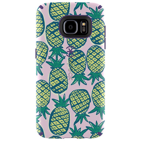 Speck Samsung Galaxy S7 CandyShell Inked Case - Pineapple Pac / Knight Purple