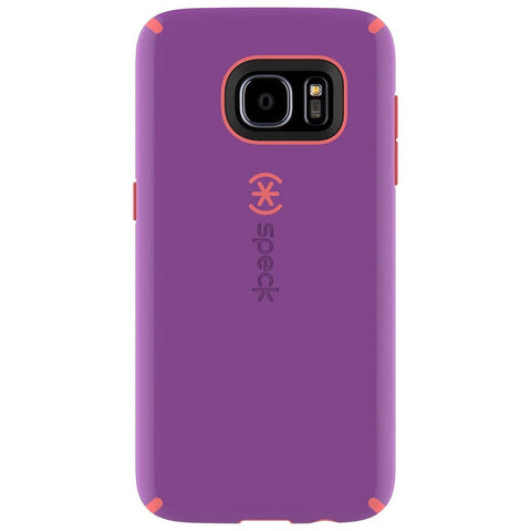 Speck Samsung Galaxy S7 CandyShell Case -  Revolution Purple / Warning Orange