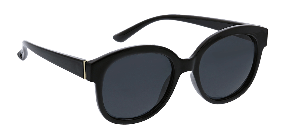 Peepers by PeeperSpecs Catalina sunglasses in black