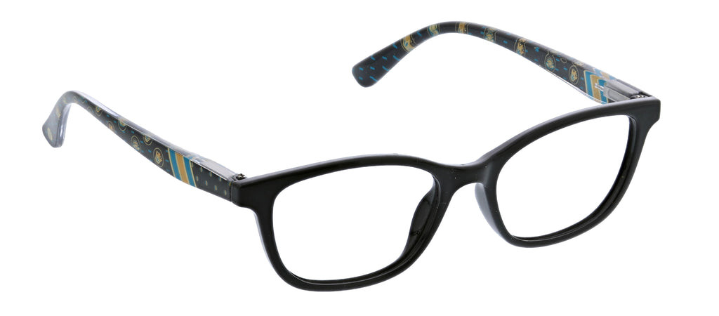 Peepers by PeeperSpecs Lore blue light reading glasses in black