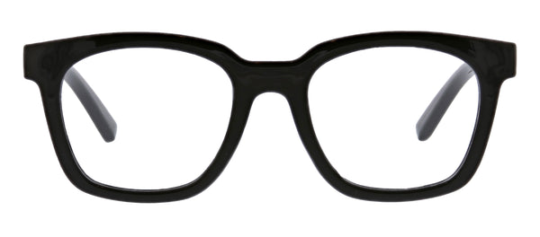 To The Max in black blue light reading glasses by Peepers