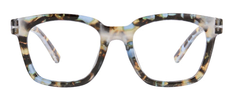 To The Max in blue quartz front view Peepers blue light reading glasses