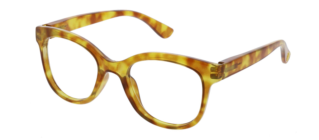 Peepers by PeeperSpecs Grandview blue light glasses in honey tortoise