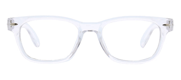 Clark Focus clear blue light reading glasses by Peepers