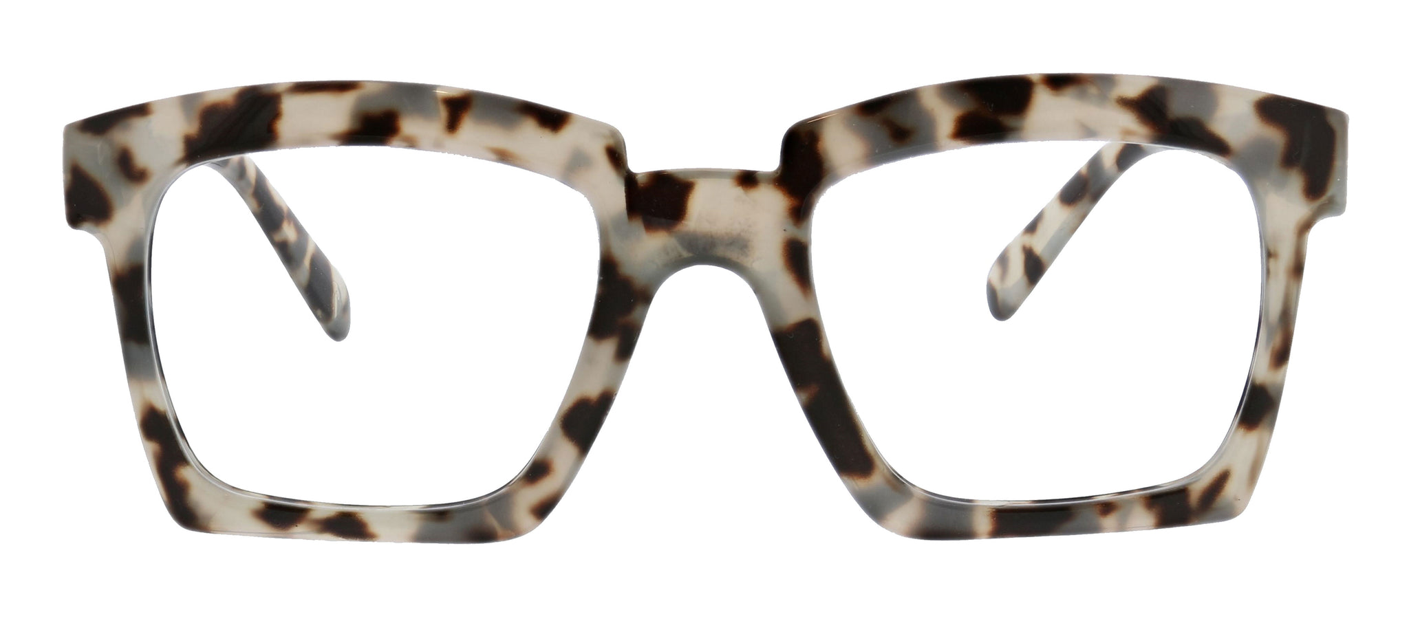 Peepers Standing Ovation square oversize blue light reading glasses