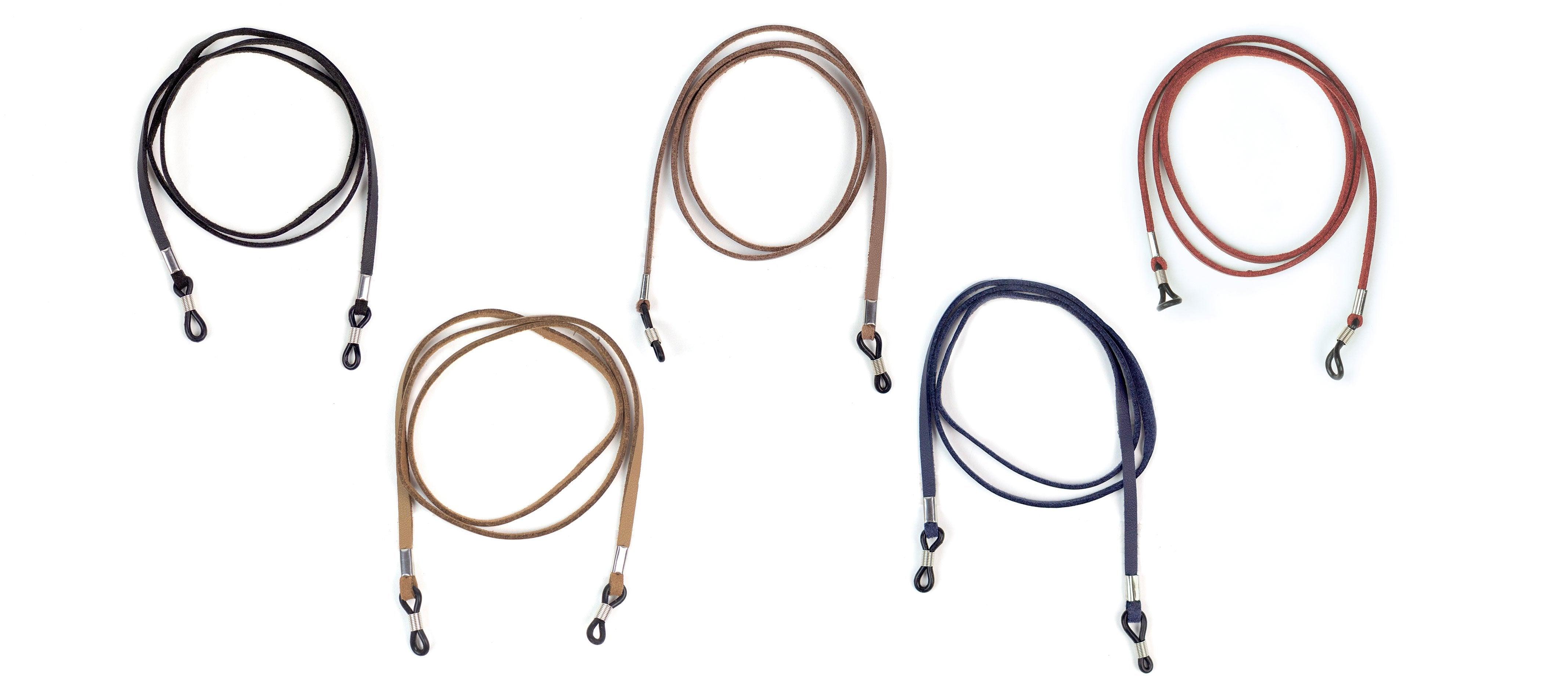 Peepers faux leather cords for reading glasses