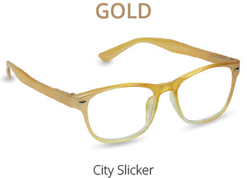 City Slicker in Gold