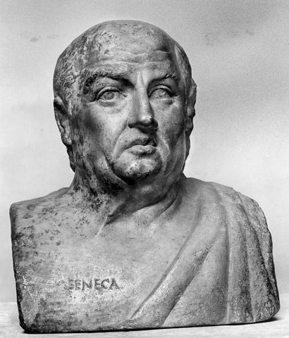 Marble bust of Seneca the Younger
