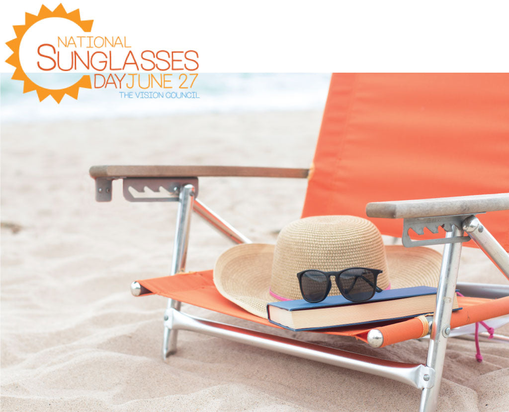 National Sunglasses Day and Peepers Reading Glasses