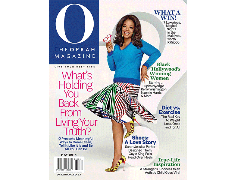 9a92459ca9 Peepers featured in the April 2014 issue of Oprah Magazine!