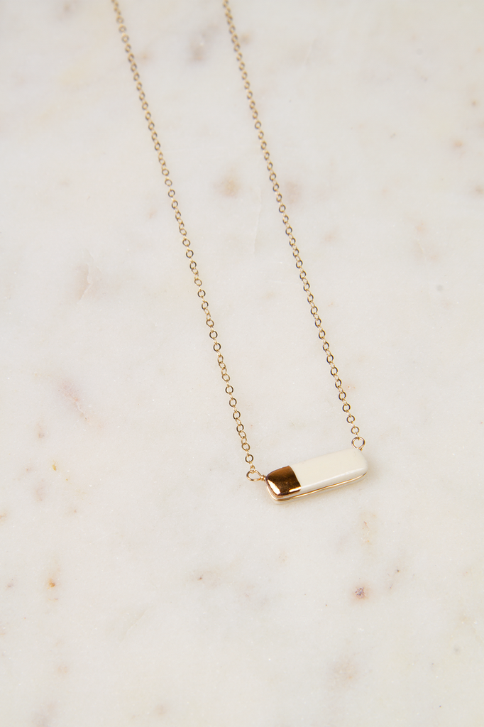 Teeny Reed Necklace