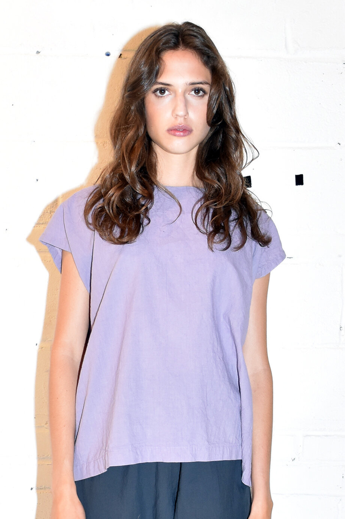 Solid Tunic in Lavender