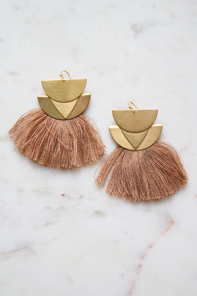 Tassel Dangle Earring