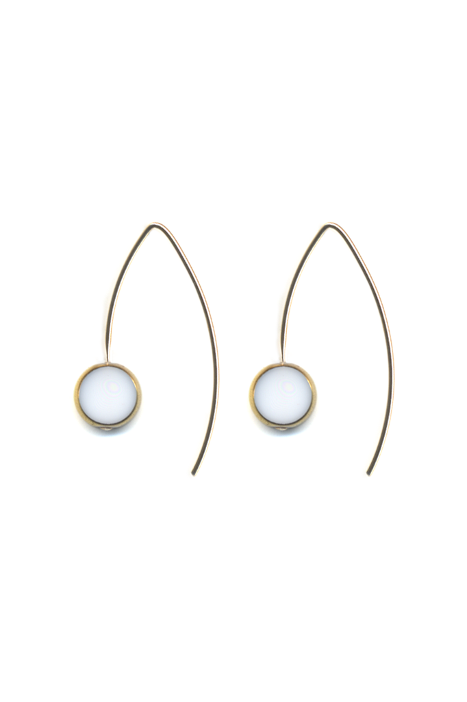 Circle Drop Earrings
