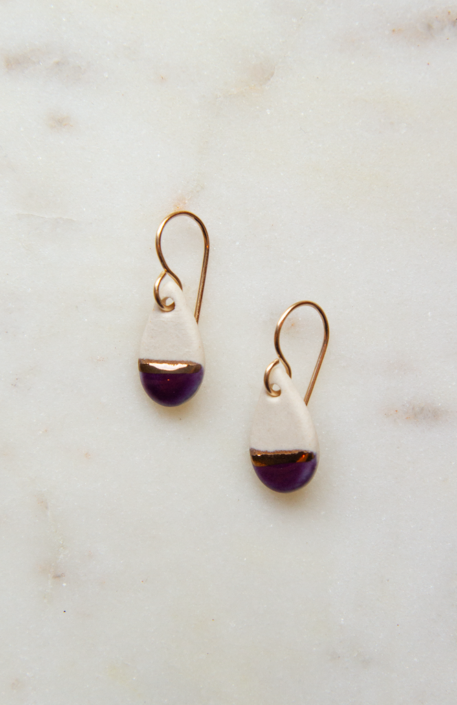 Tiny Teardrop Earring