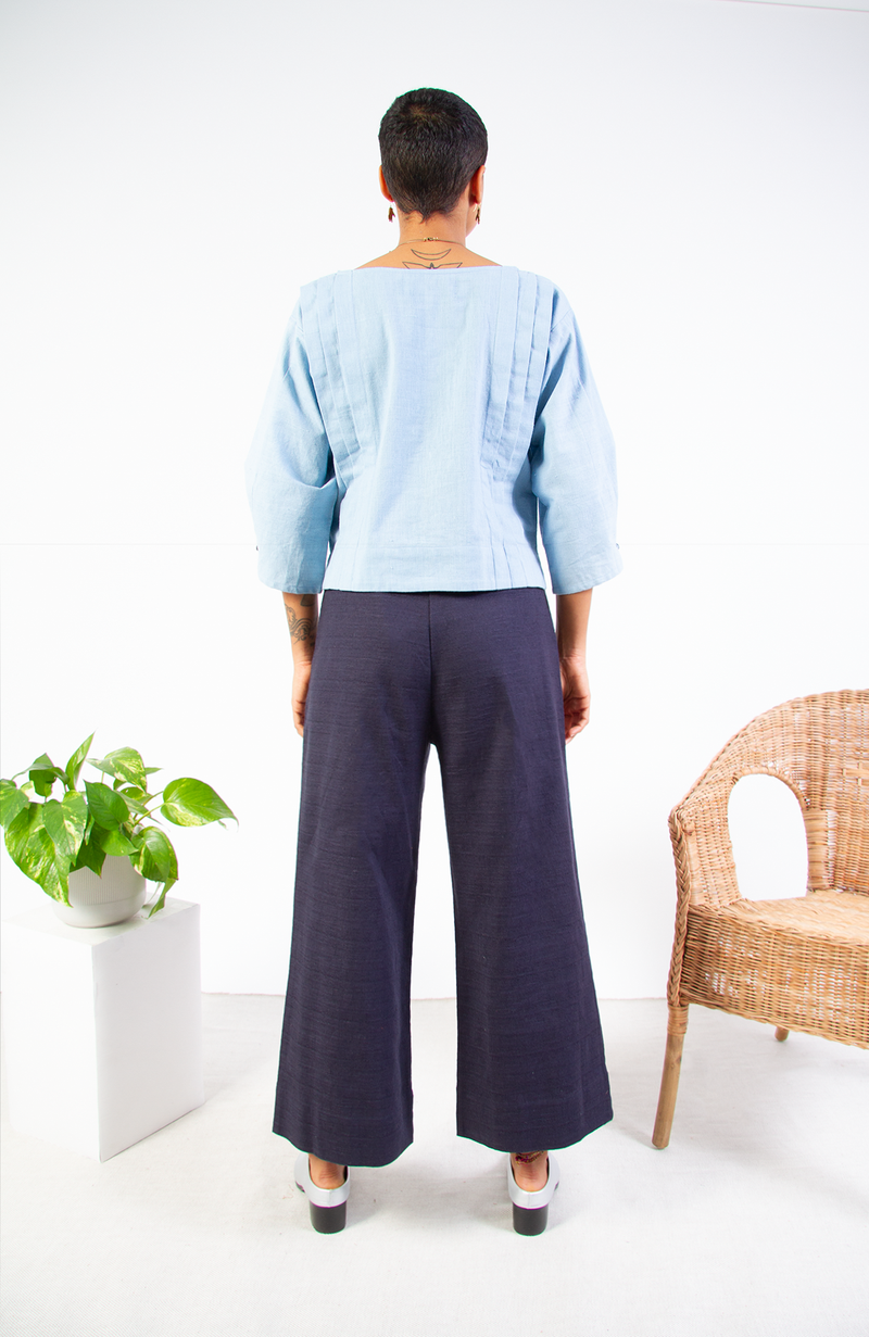 Organic Japanese Cotton A-Line Pant