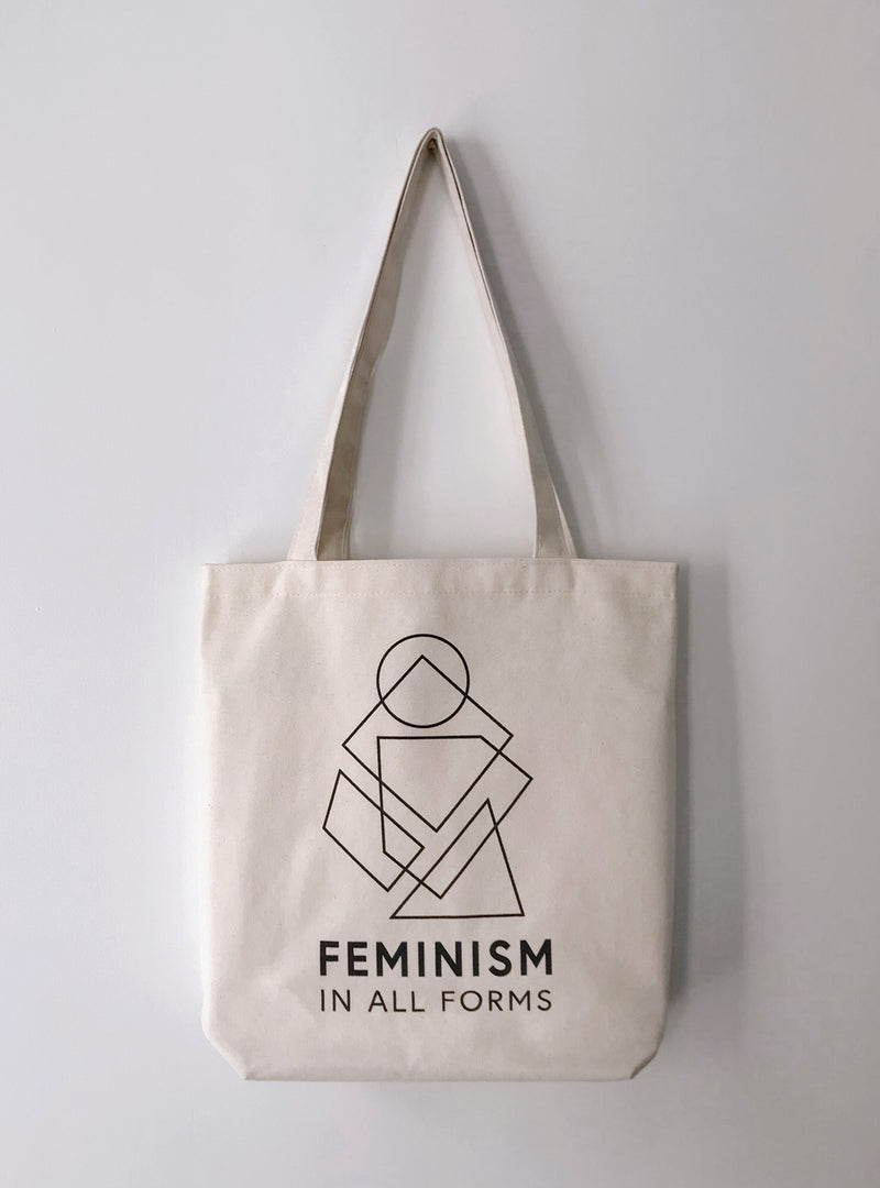 'Feminism In All Forms' Tote Bag