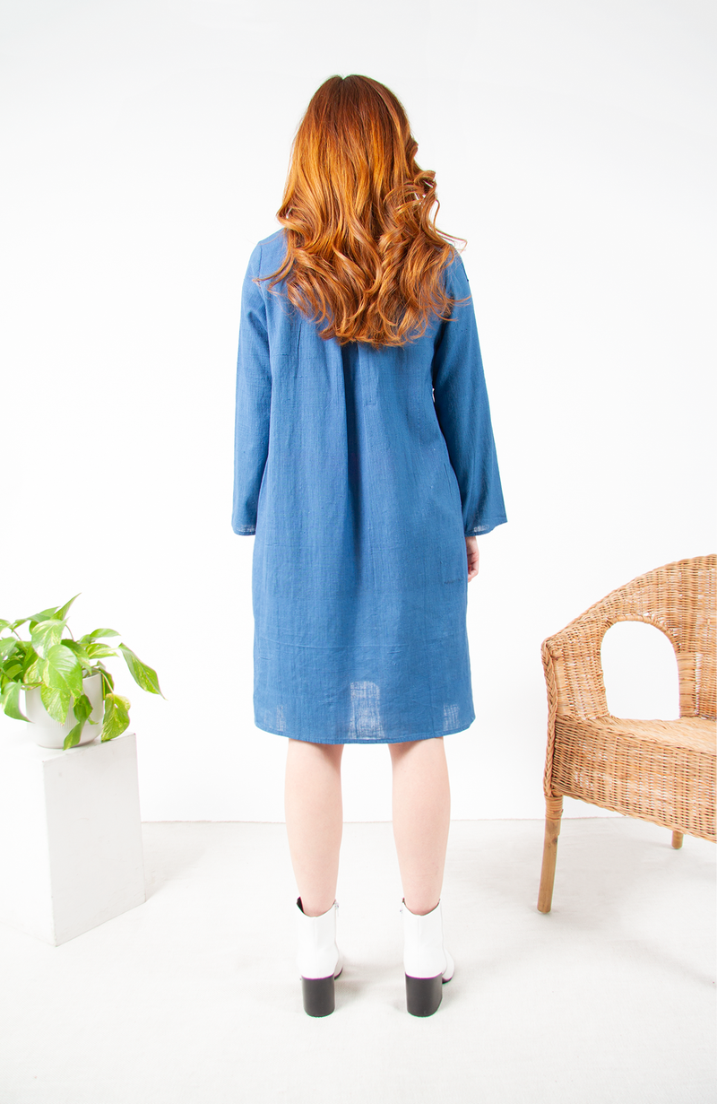 Amma Long Sleeve Dress