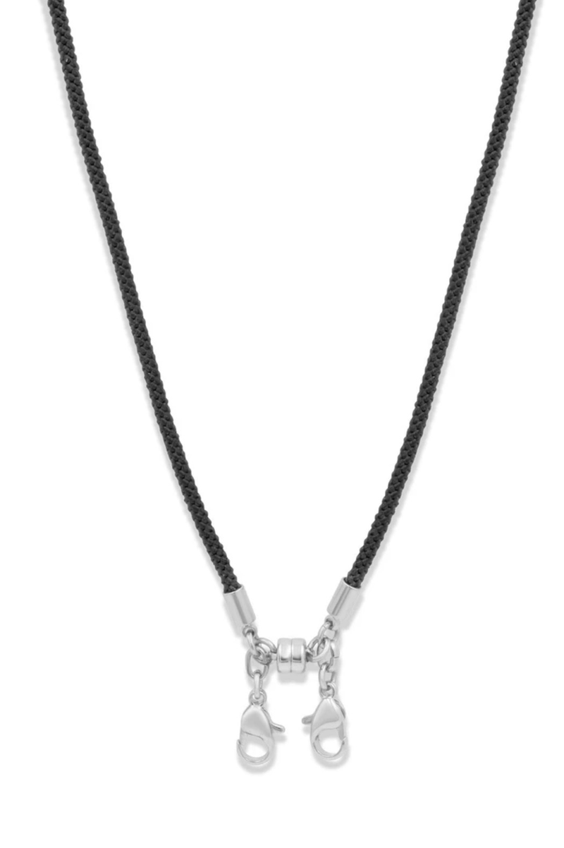 Convertible Cord Necklace, Black