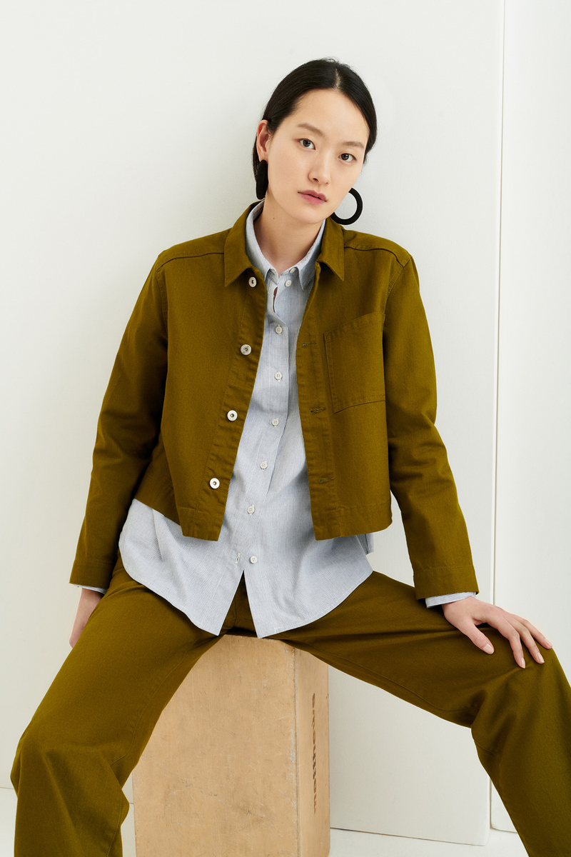 Direction Jacket, Olive
